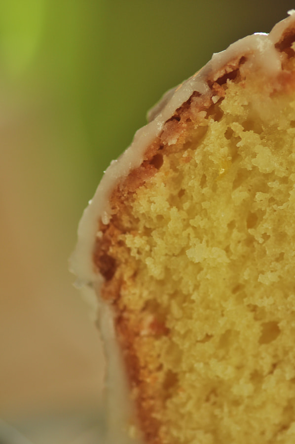 Cake Humedo de Limon - Close up de July Krischak   en 500px.com