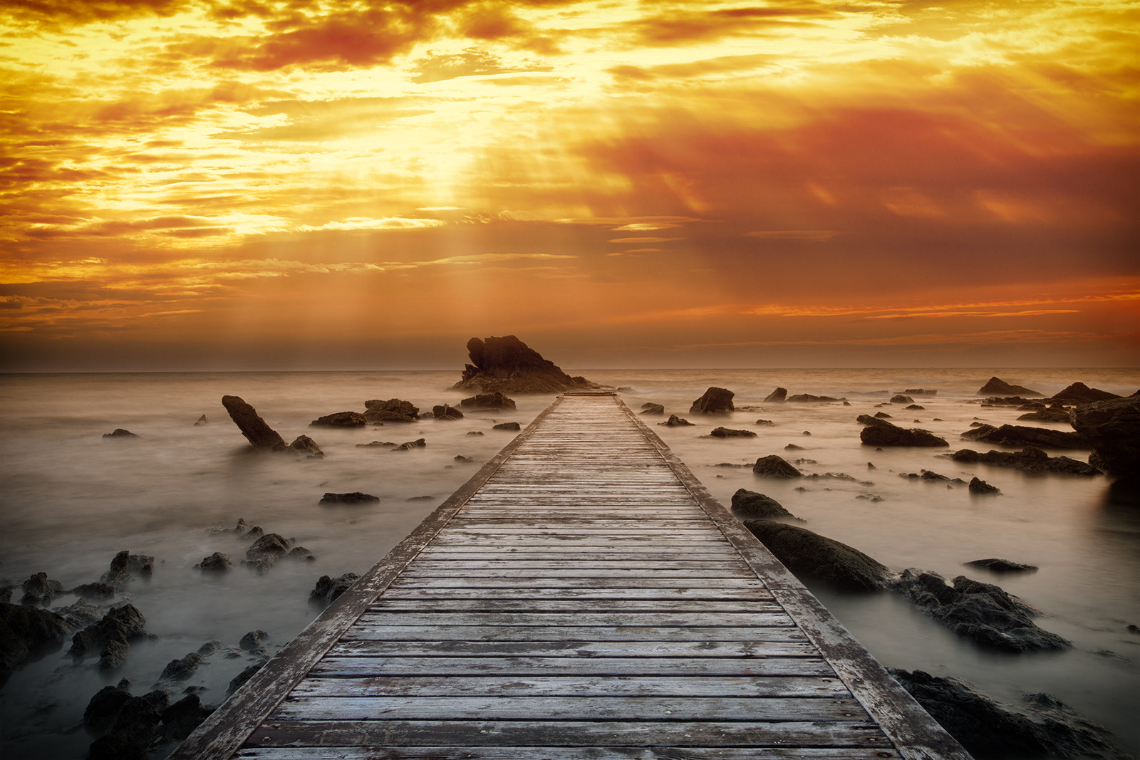 Photograph Warm Sunset by Marco Carmassi on 500px