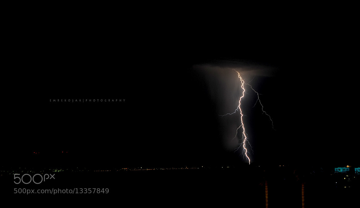 Photograph lightning by Emre Koşak on 500px