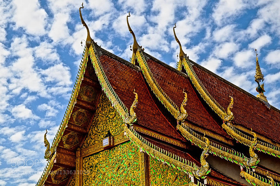 Temple Rooftop, Chiang Mai,  Thailand