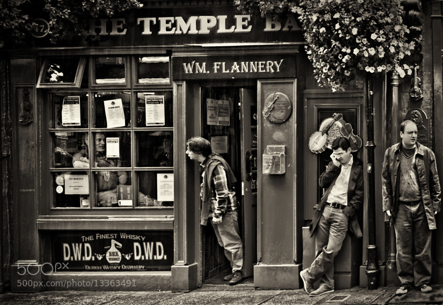 Temple Bar, Dublin, Ireland - July 2012