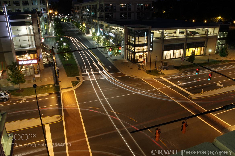 Photograph Car Trails by Robert Hansen on 500px