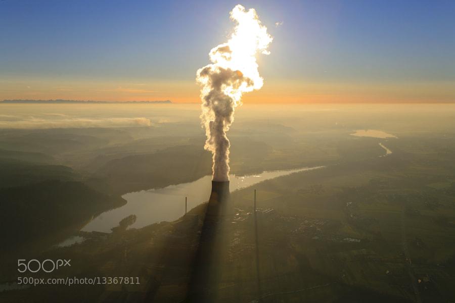 Photograph Atomkraftwerk Isar 1 und Isar 2 bei Ohu by Klaus Leidorf on 500px