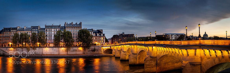 Photograph Pont Neuf Paris Panorama by Ramelli Serge on 500px