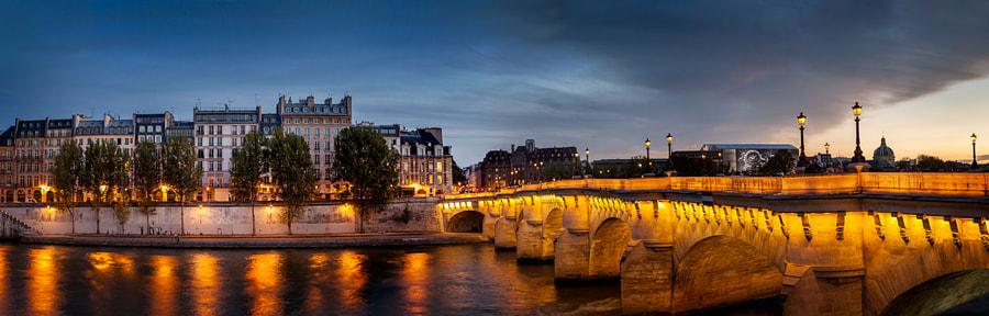 Pont Neuf Paris Panorama