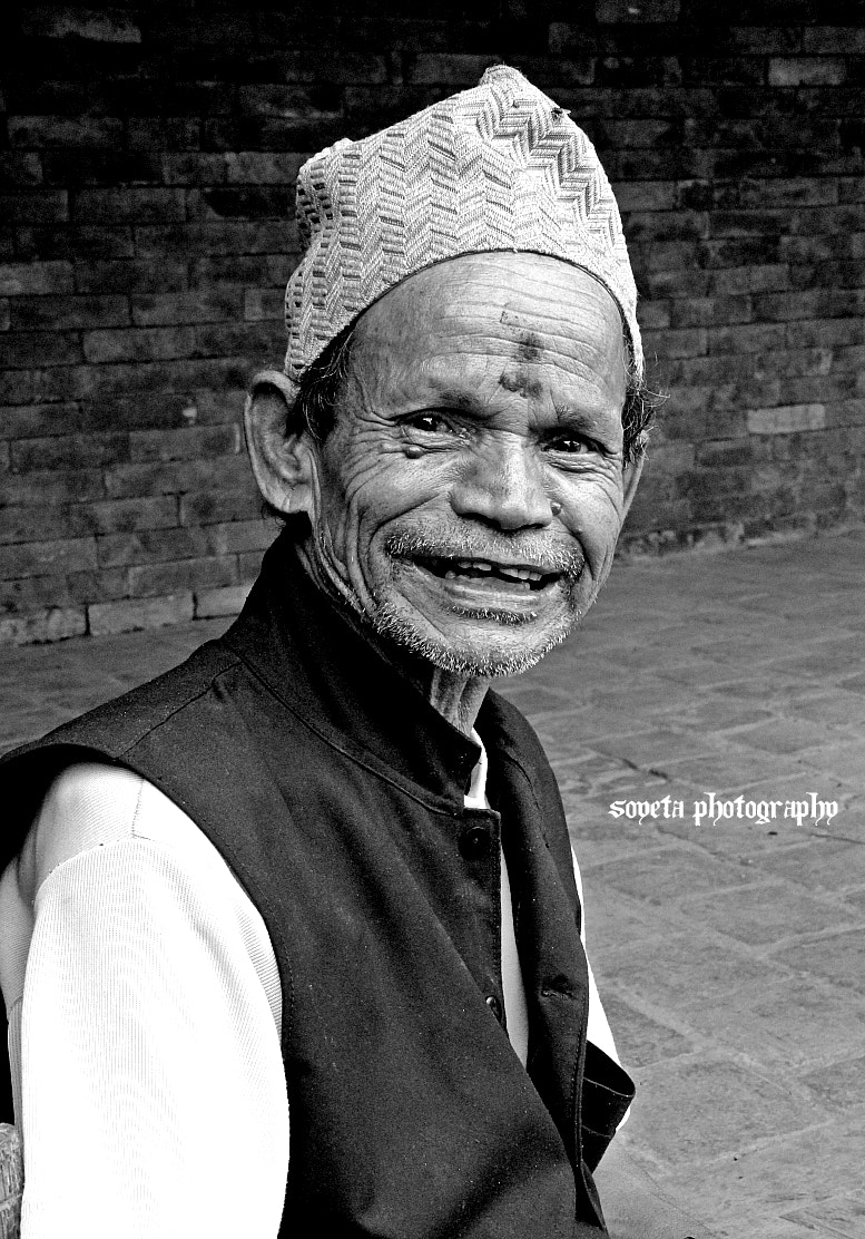 Photograph Happy Old Man by Sweta Shrestha on 500px
