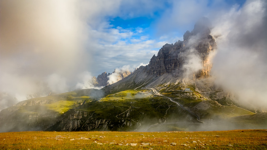 Tre Cime at the morning by Ľuboš Capcara on 500px.com