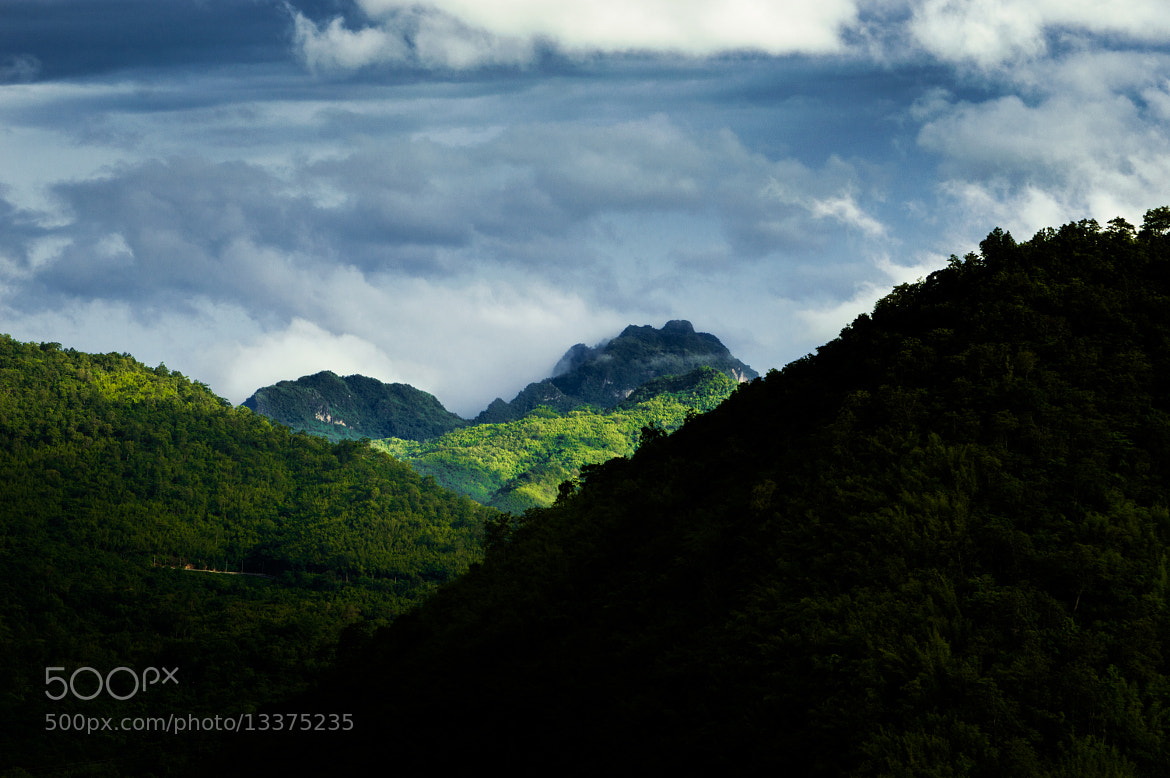 Photograph Hills behind the Dam by Tassapon Vongkittipong on 500px