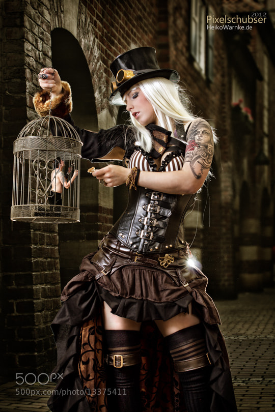 Photograph Steam Punk Girl by Heiko Warnke on 500px