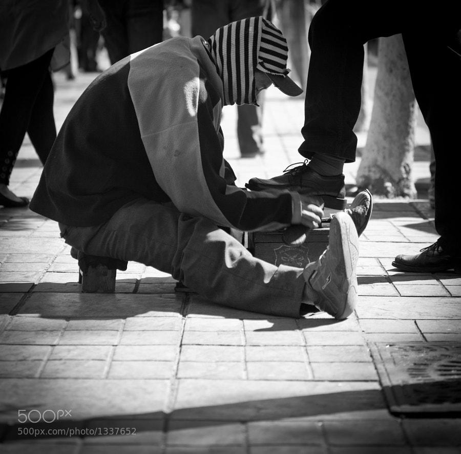 Shoeshiner by carlos restrepo (carlosrestrepo) on 500px.com