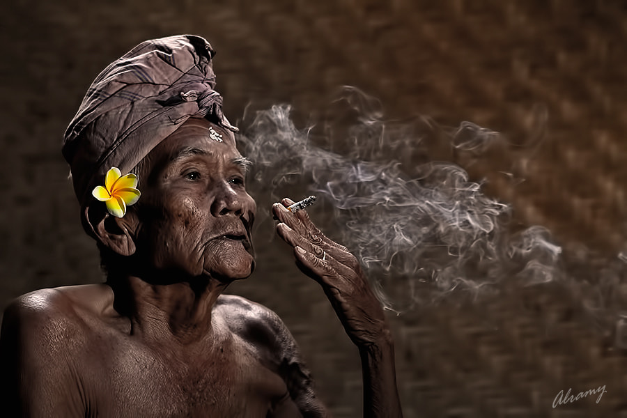 """Photograph """" Old Smokers """" by Hendro Alramy on 500px"""