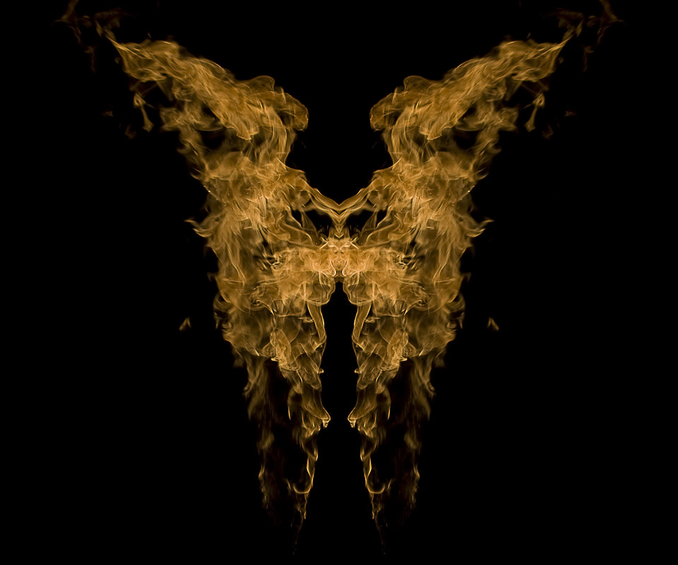 Photograph Rorschach Flames 3 by Kam Khan on 500px