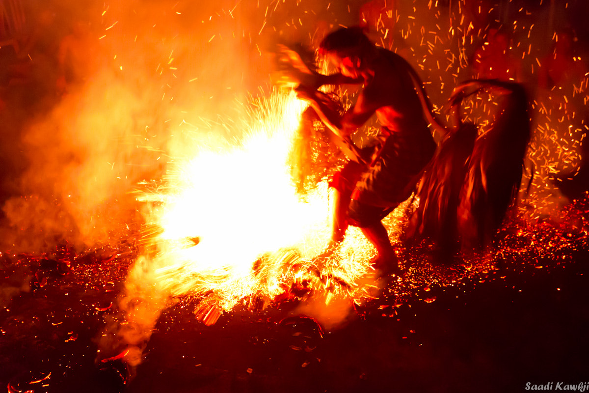 Photograph Walking on the fire... by Saadi Kawkji on 500px