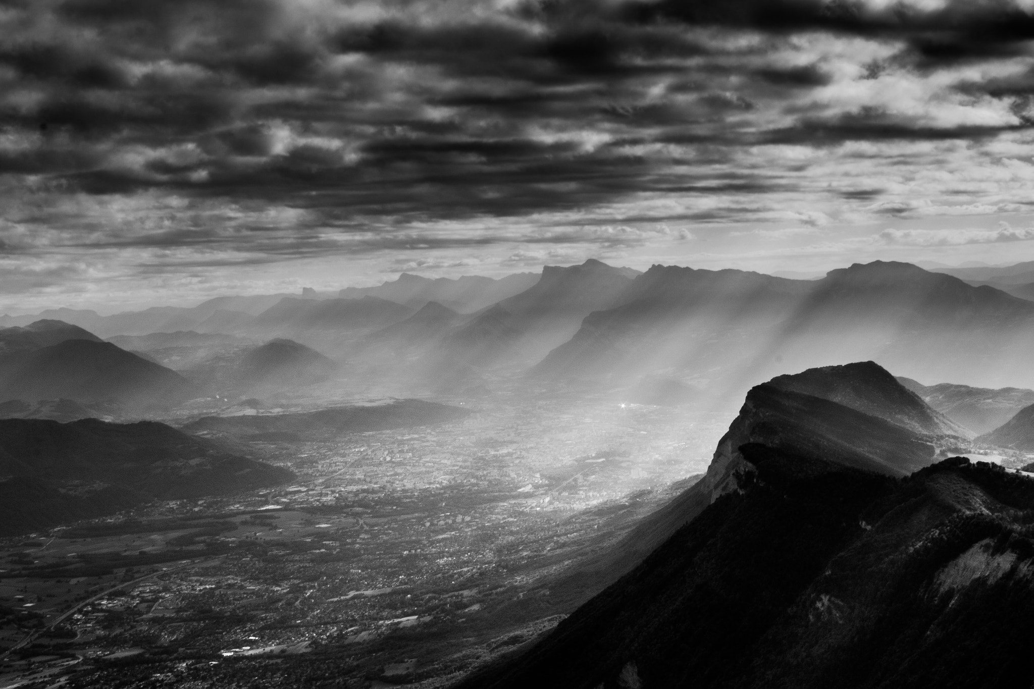 Photograph sunshine on grenoble by vincent viargues on 500px
