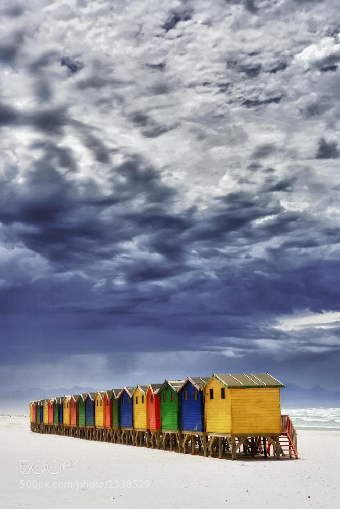 Photograph Huts by Mario Moreno on 500px