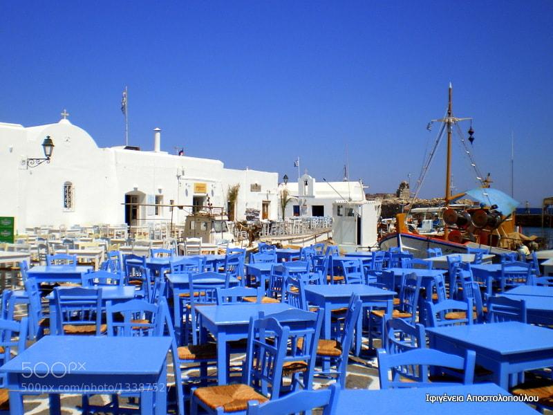 Photograph Naoussa,Paros Island by Ifigeneia  Apostolopoulou on 500px