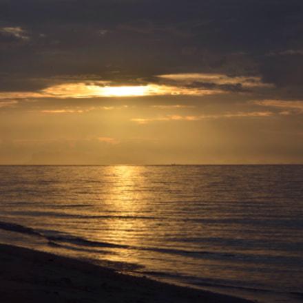 A warming sunset