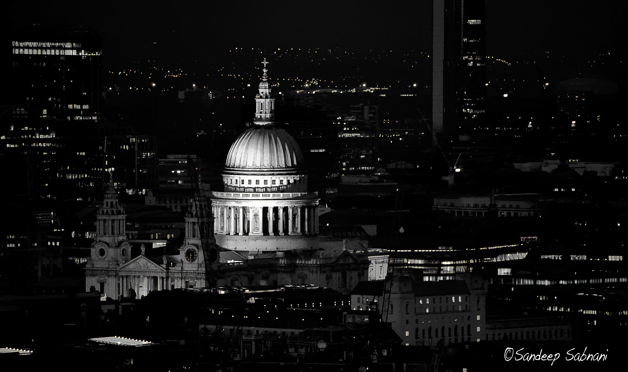 Photograph St. Paul's in Monochrome by Sandeep VS on 500px