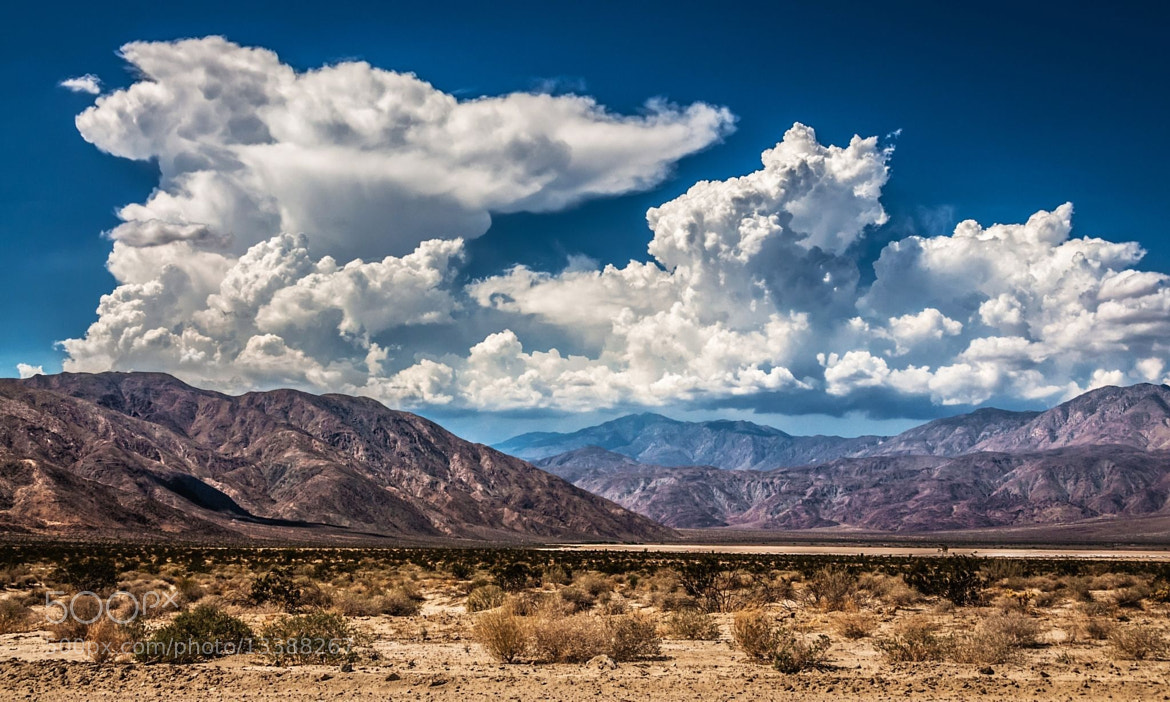 Photograph Santa Rosa Mountains  by Bill Dickinson on 500px