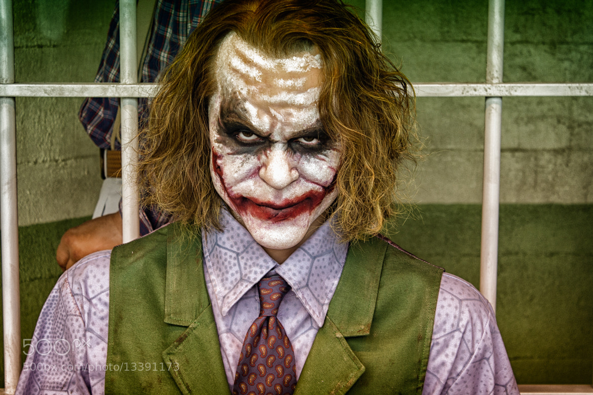 Photograph The Joker by Hanif Barnwell on 500px
