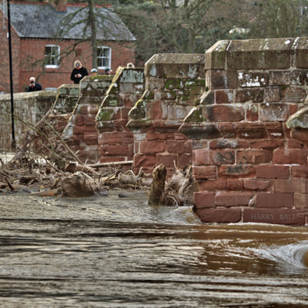 Farndon Bridge Flooding
