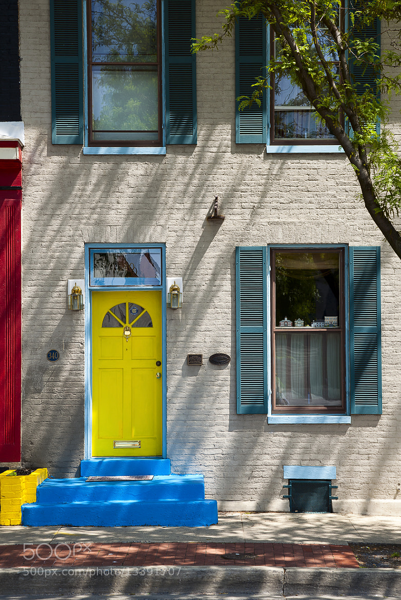 Photograph YELLOW DOOR by Digi Ronin on 500px