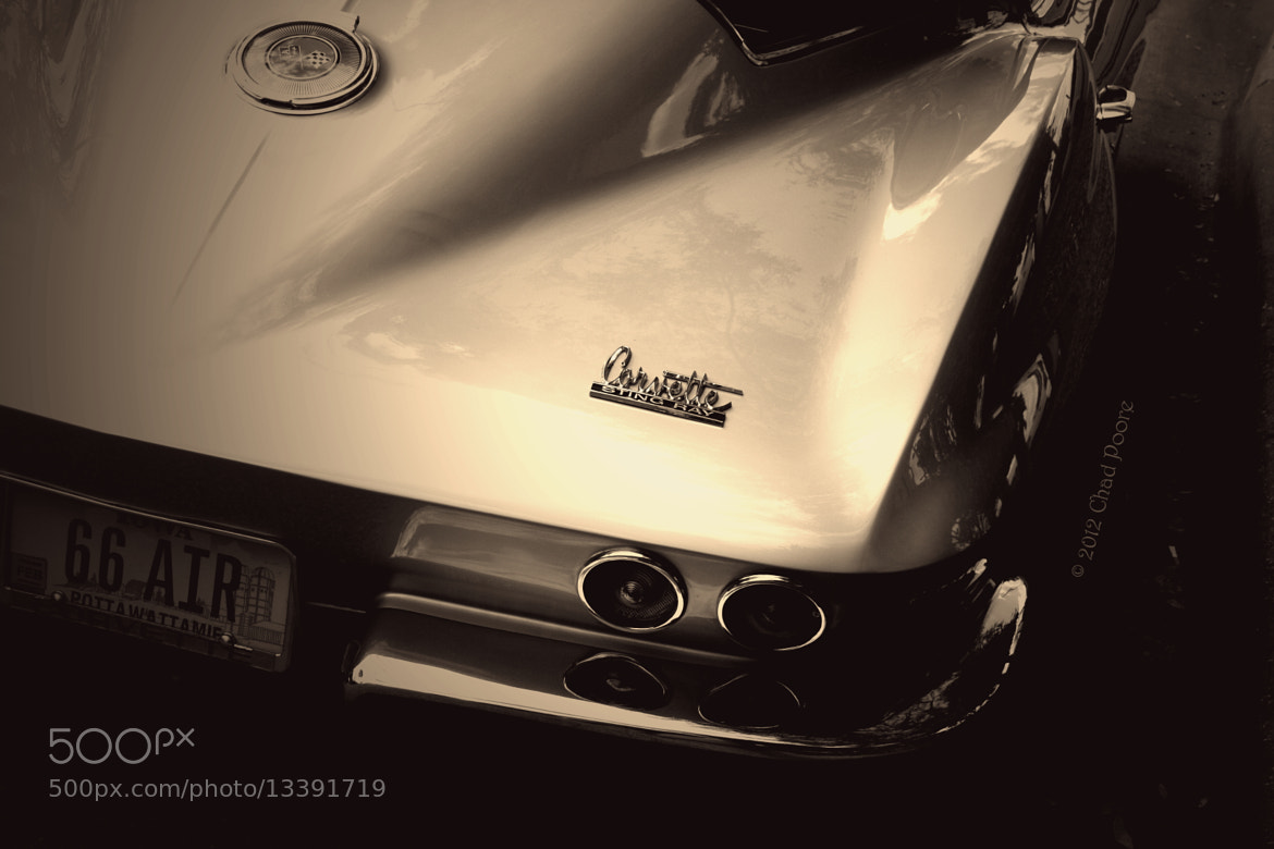 Photograph 1966 Corvette Sting Ray by Chad Poore on 500px