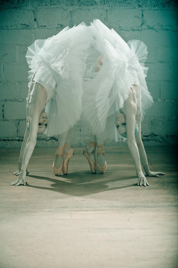 Photograph Ballet girls by Max Kalmykoff on 500px