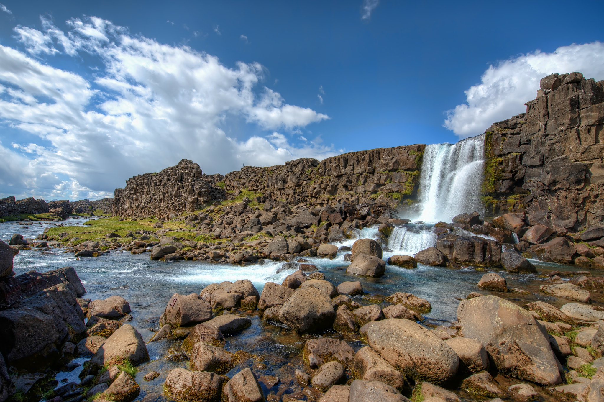 Photograph Öxarárfoss by Brian Collins on 500px