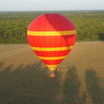 Hot Air Ballooning, Fujifilm FinePix S3100