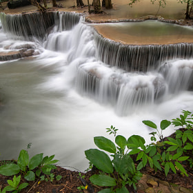 Maekhamin waterfall. by Arty Sajjawanit (psodonata)) on 500px.com