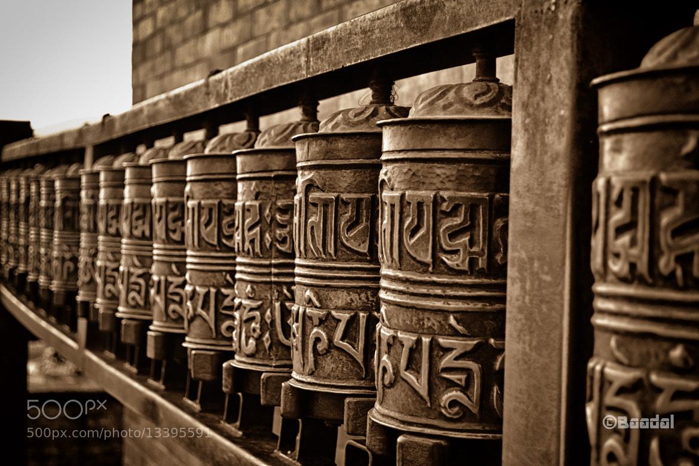 Photograph Buddhist prayer wheels by kumar varun on 500px