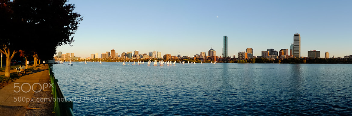 Photograph Beantown & The Charles River by Laurent Meister on 500px