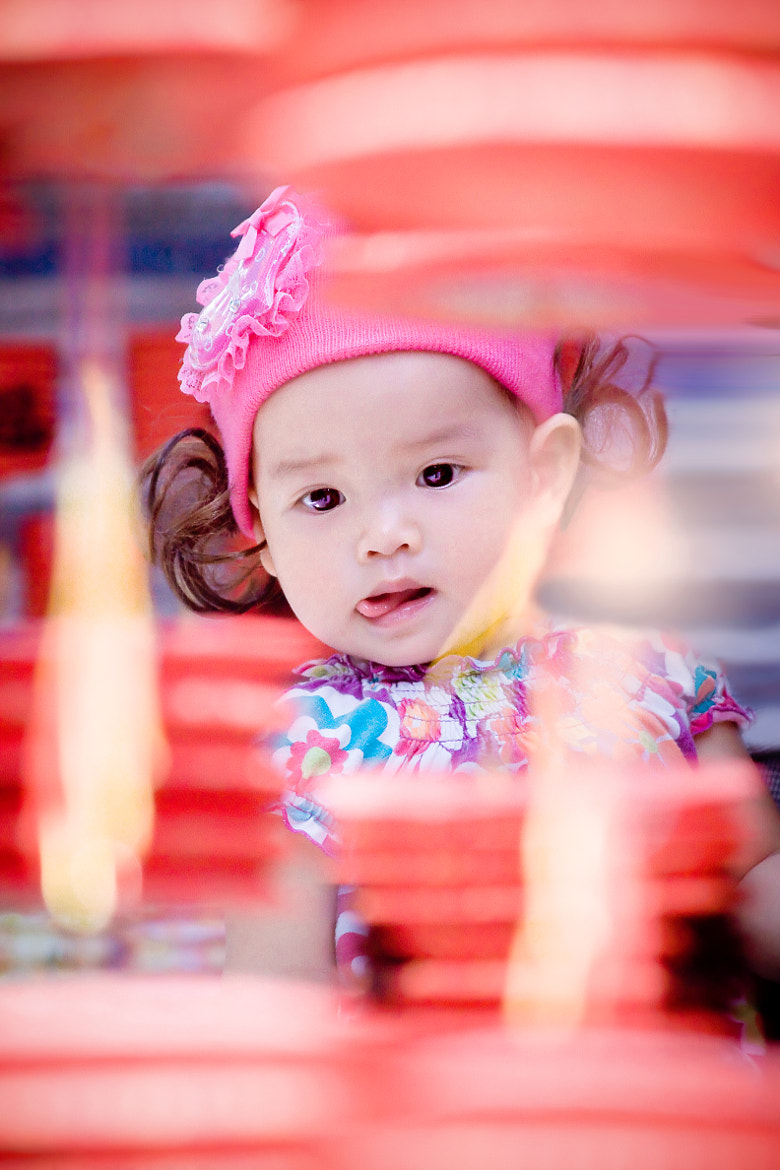 Photograph child and lanterns by Dzung Nguyen on 500px