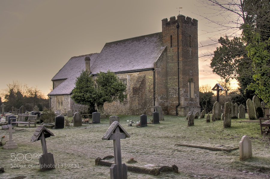 St John the Baptist Church. North Baddesley, Hampshire by ajcook  on 500px.com