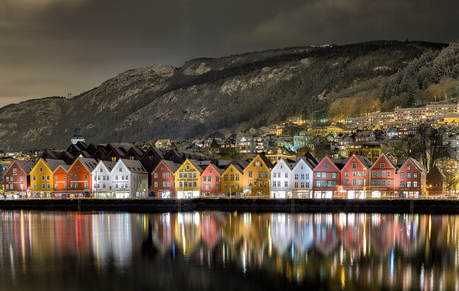 Bergen Harbor View by Eirik Sørstrømmen on 500px.com