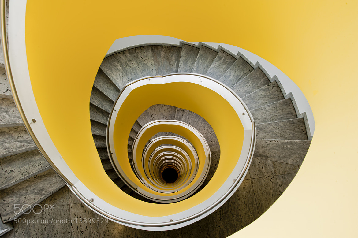 Photograph Citron Stairs by Niki Feijen on 500px
