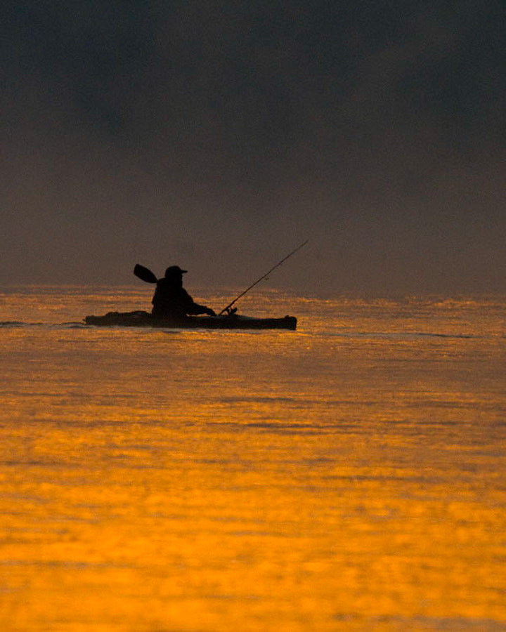 Photograph Golden Kayaker by Kelly & Robert Walters on 500px