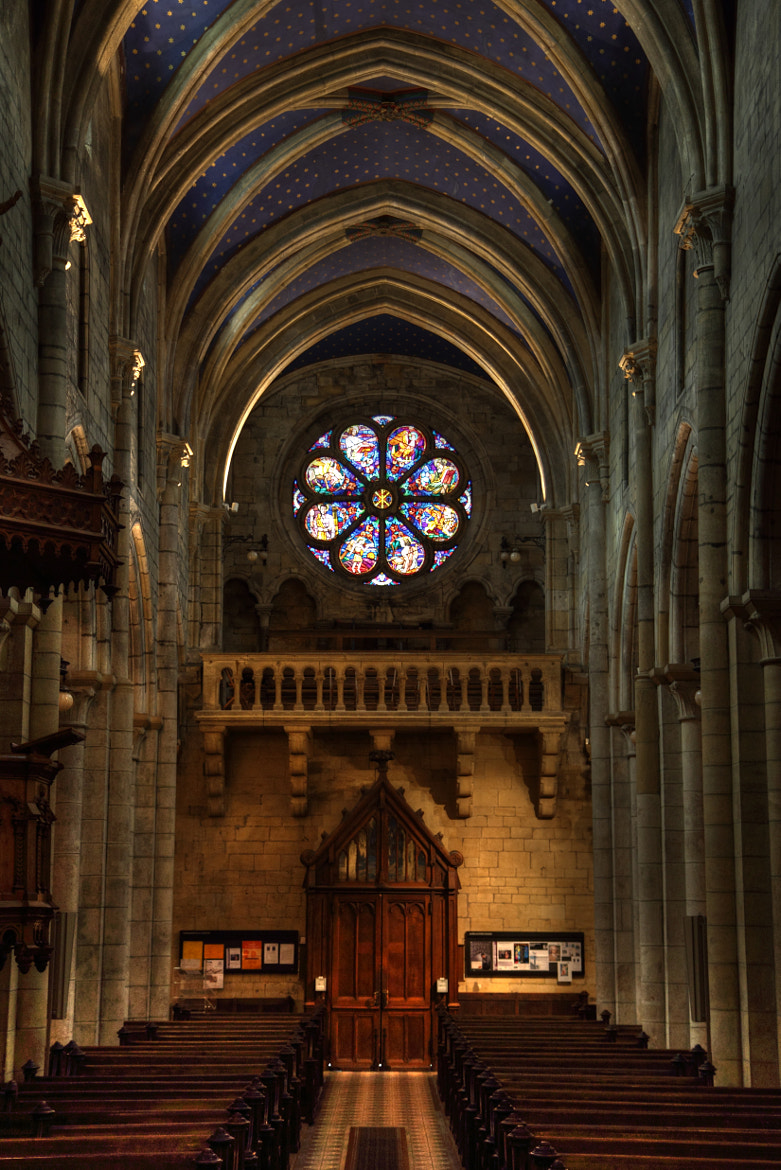 Photograph Nave View - Collegiale de Neuchatel by Gheorghe Postelnicu on 500px