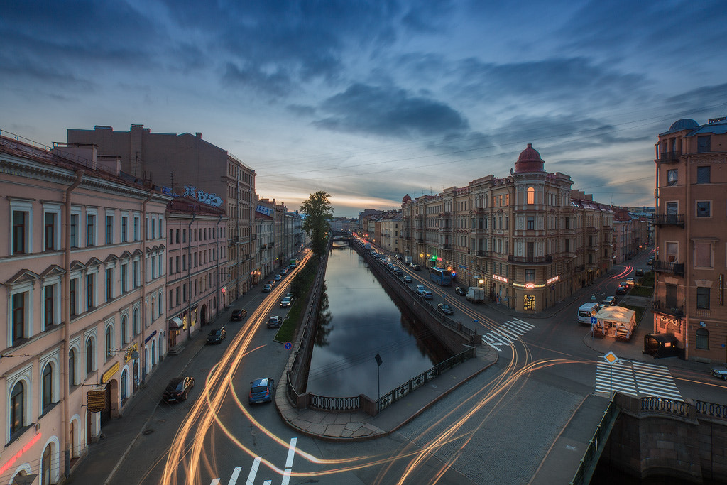 Photograph the Kokushkin Bridge & Griboedov Canal by Ilya Shtrom on 500px