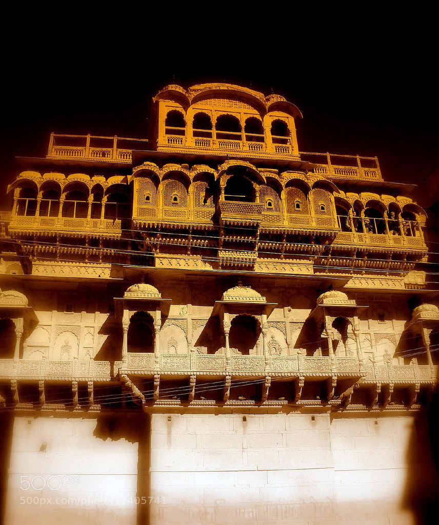 Photograph The Golden Fort by Gaurav Atri on 500px