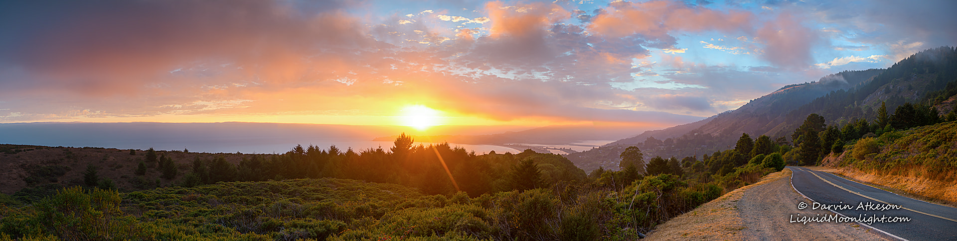 Photograph California Sunset (Large Panorama)  by Darvin Atkeson on 500px