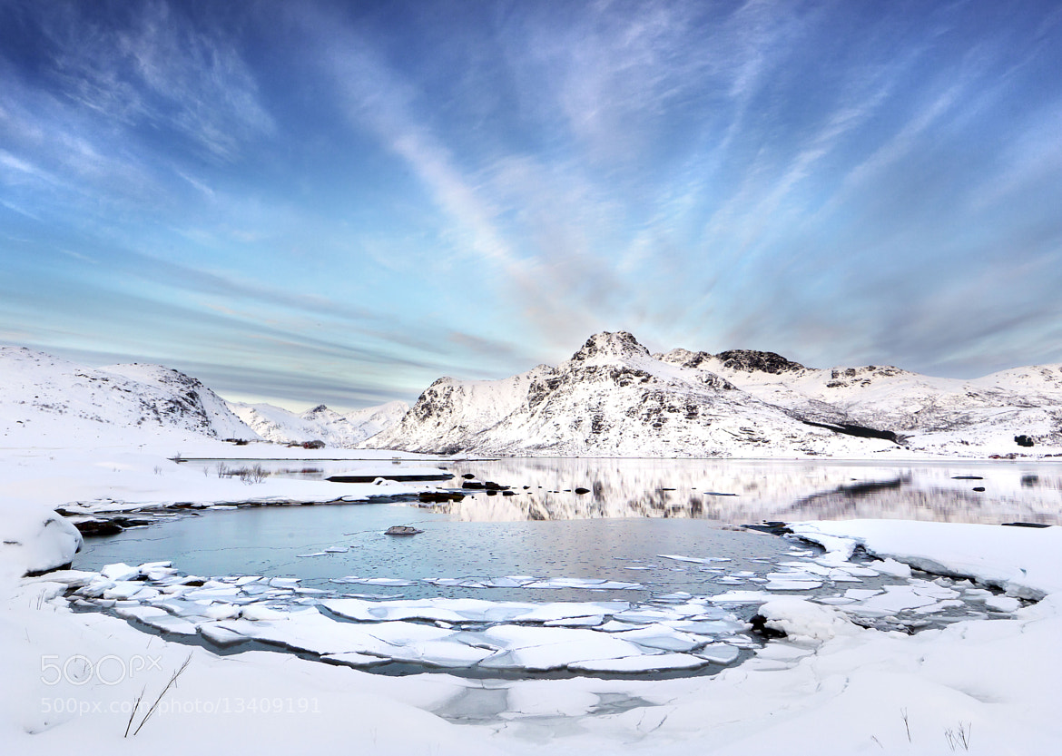 Photograph Frozen fiord by James Boardman-Woodend on 500px