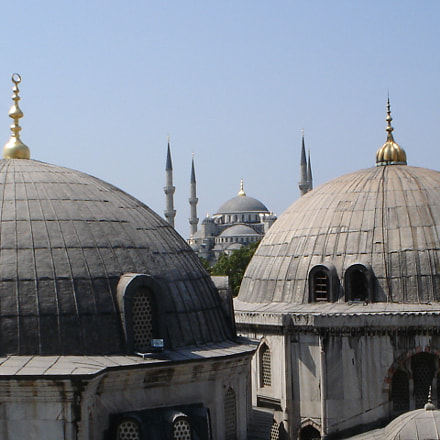 Blue mosque, Sony DSC-P43