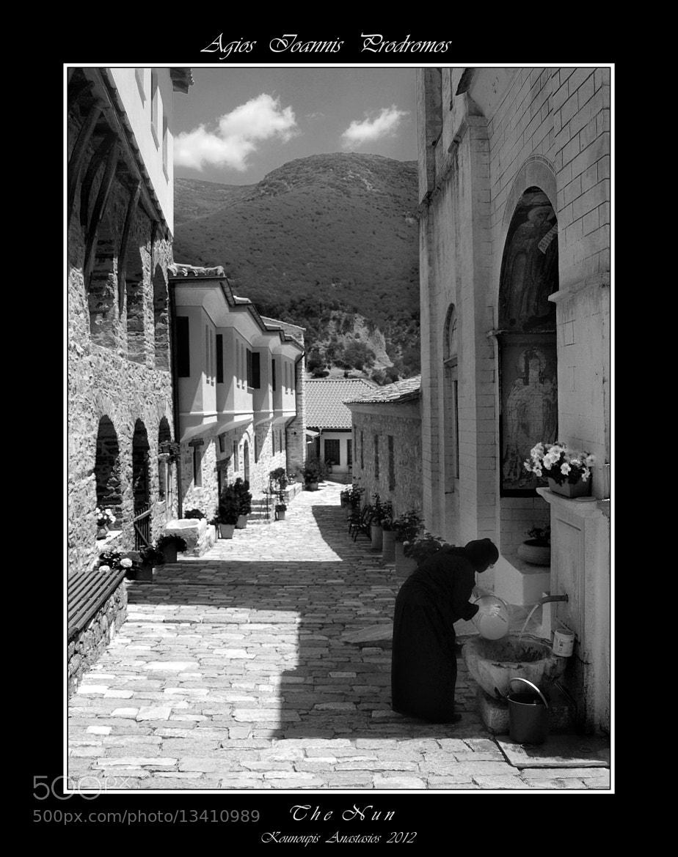 Photograph The Nun by Kounoupis Anastasios  on 500px