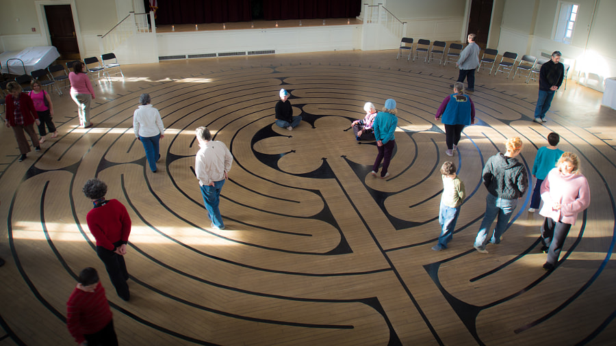 Peterborough Labyrinth by John Poltrack on 500px.com