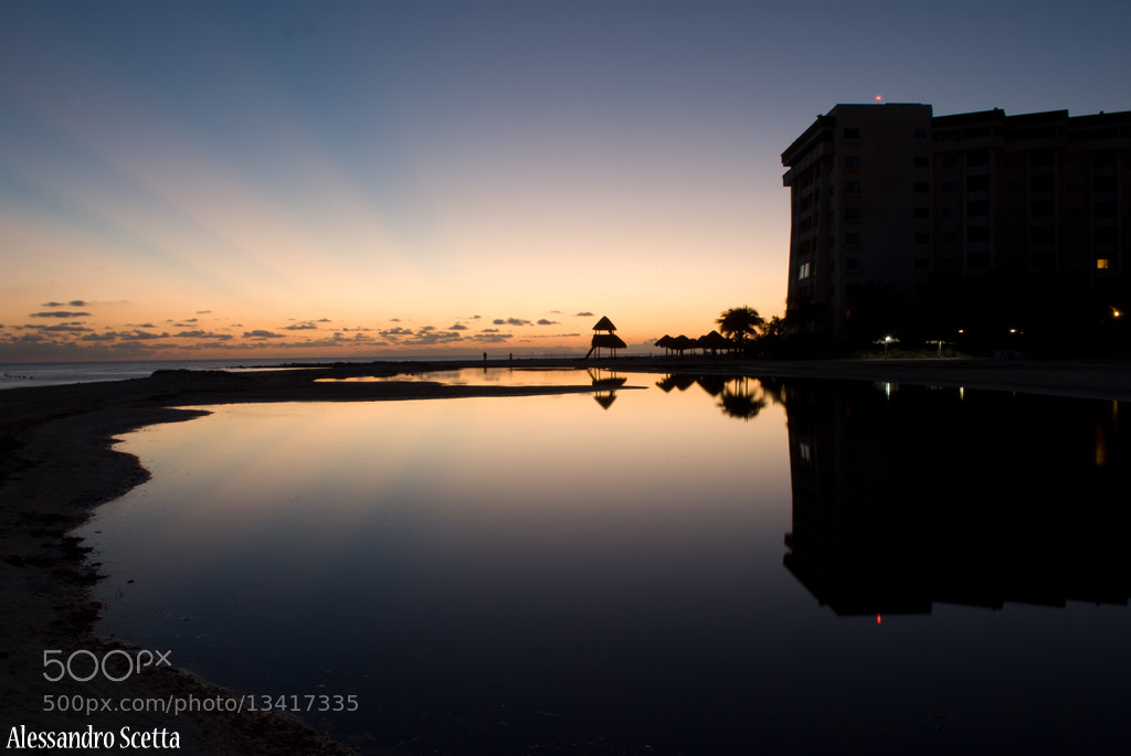 Photograph Cancun Sunrise by AlesSandro Scetta on 500px