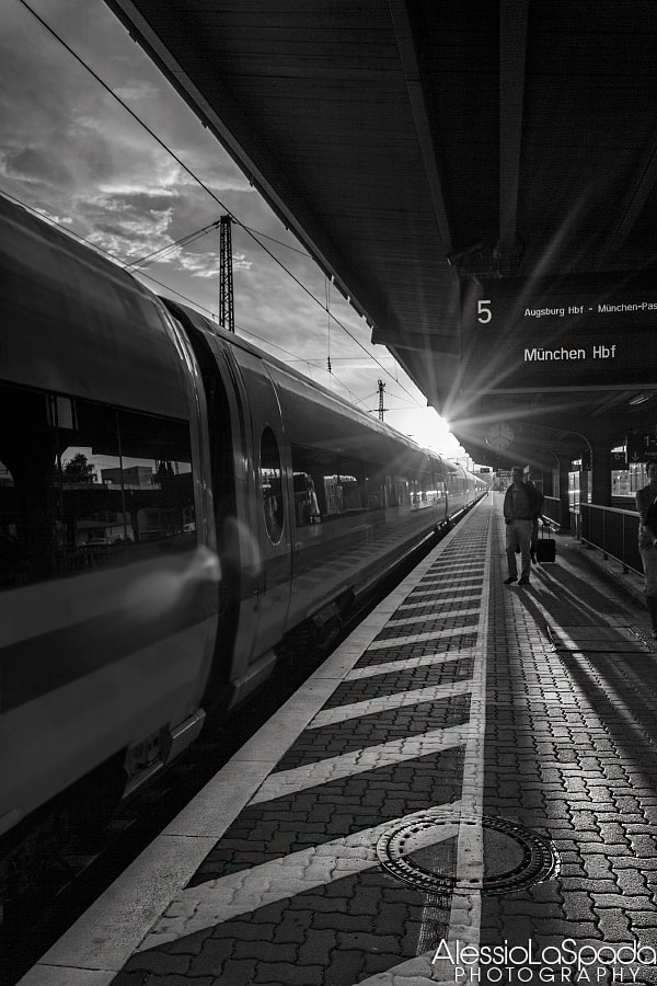 Photograph Going to München by Alessio La Spada on 500px