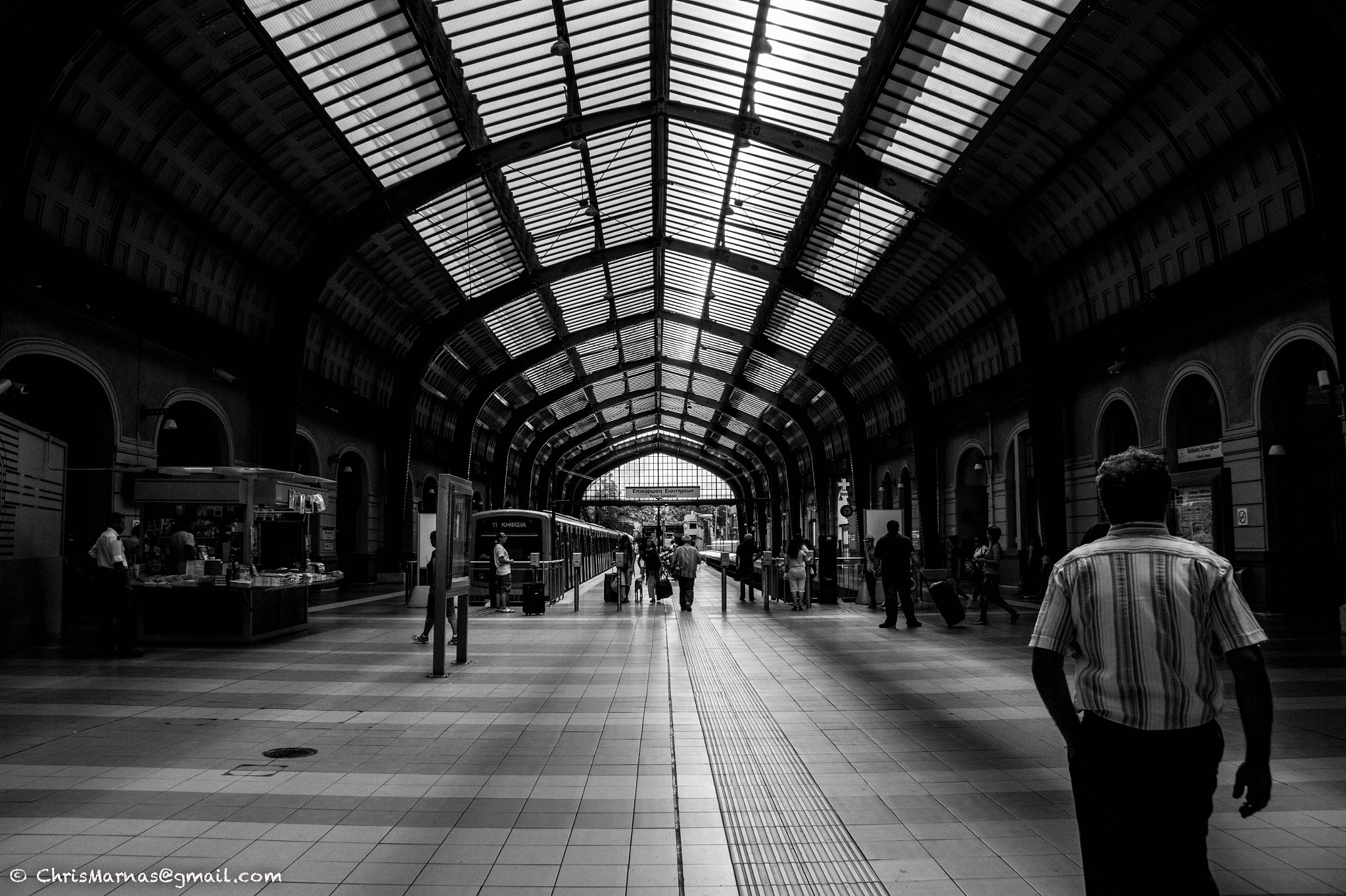 Photograph station peiraias  by Chris Marnas on 500px