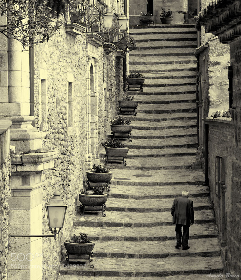 Photograph The Old Stairway by Angelo Bosco on 500px